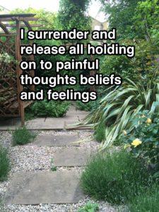 mindful surrender